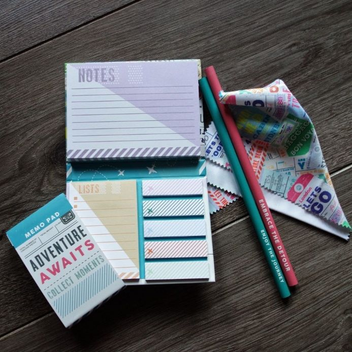 50% OFF Adventure Awaits Stationery